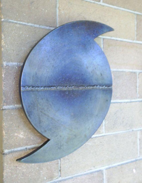 steel hurricane katrina symbol waterline sculpture