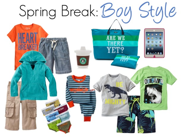 Travel style what to pack the kids for spring break travel tips what to pack travel style for Travel gear for toddlers