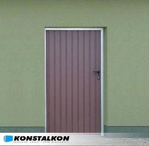 STEEL DOORS to the wall – GARAGE DOORS – ALL OF POLAND