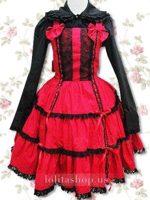 lolita+outfits | Punk Lolita Dresses