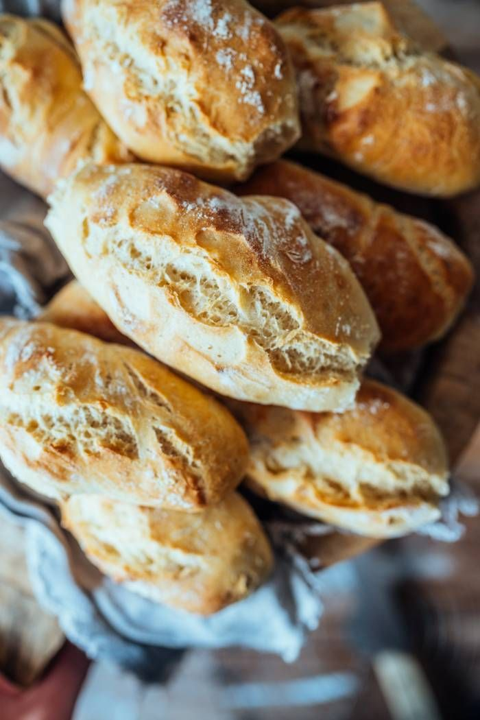 Baguette Brötchen ohne Kneten: Frühstücksduft liegt in der Luft