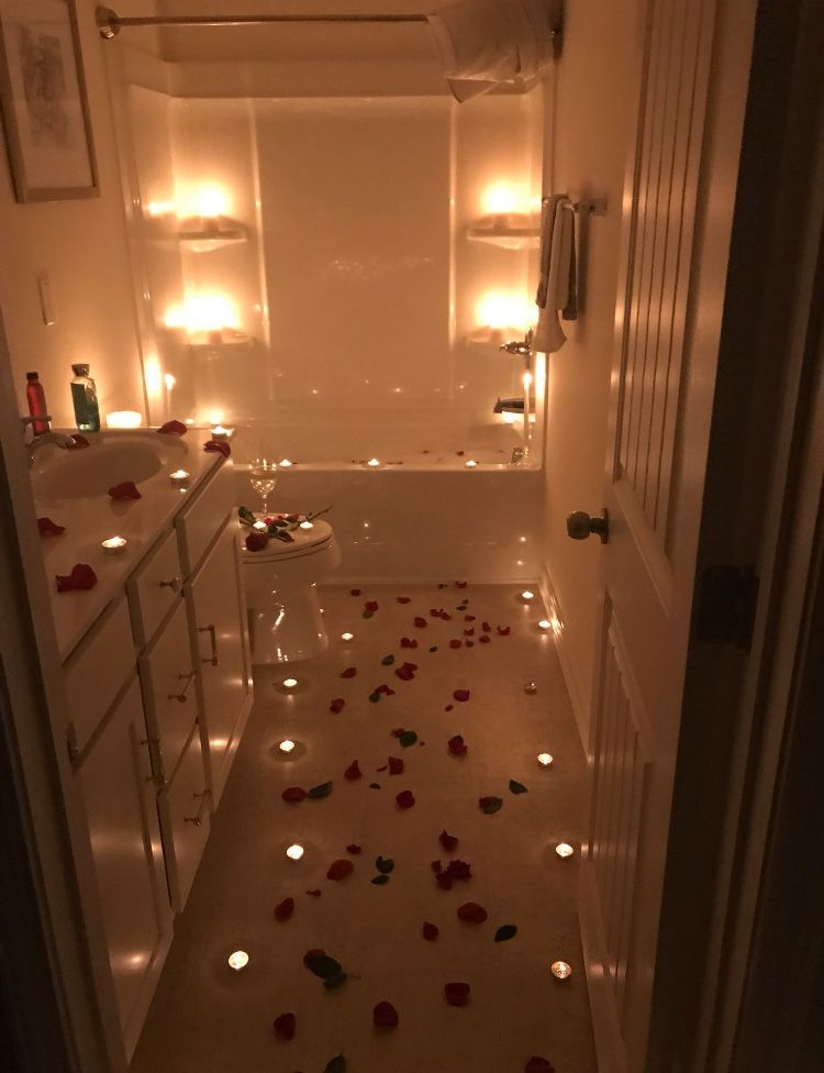 Romantic Bedroom At Night: Idea By NATALIA🦋. On Relationships.