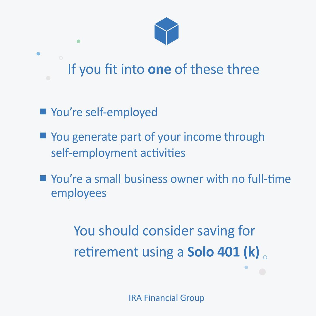 Solo 401(k Saving for retirement, Financial, Retirement fund