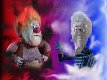 Heat Miser And Snow Miser Christmas Cartoons Christmas Characters Vintage Christmas