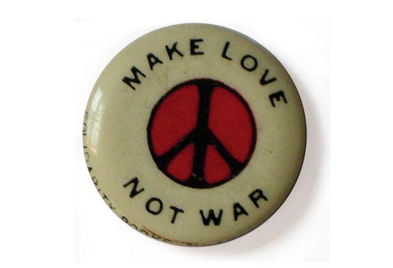 Peace Anti War Coexist Bumper Sticker Decal Love Not War