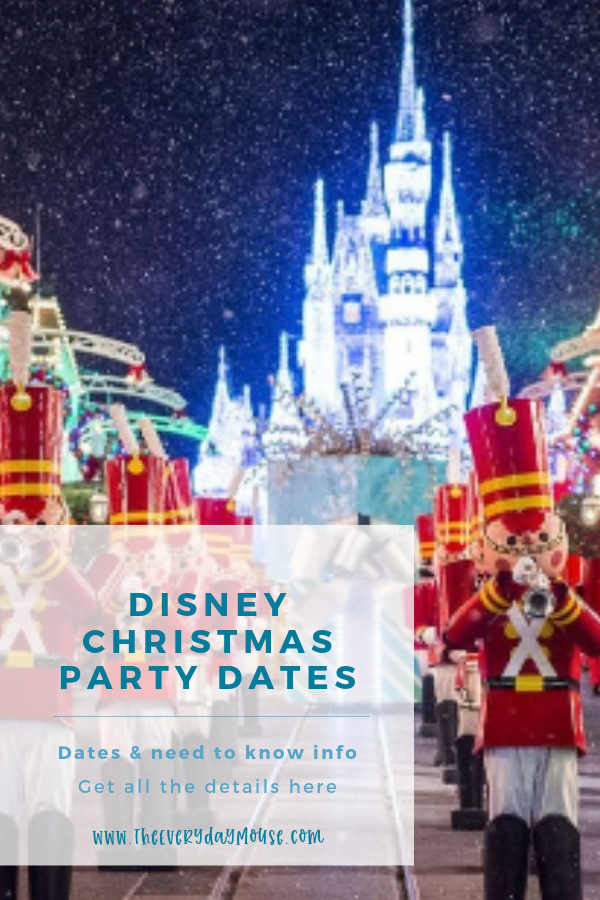 Mickeys Very Merry Christmas Party 2019 Dates.Mickey S Very Merry Christmas Party 2019 Dates Details