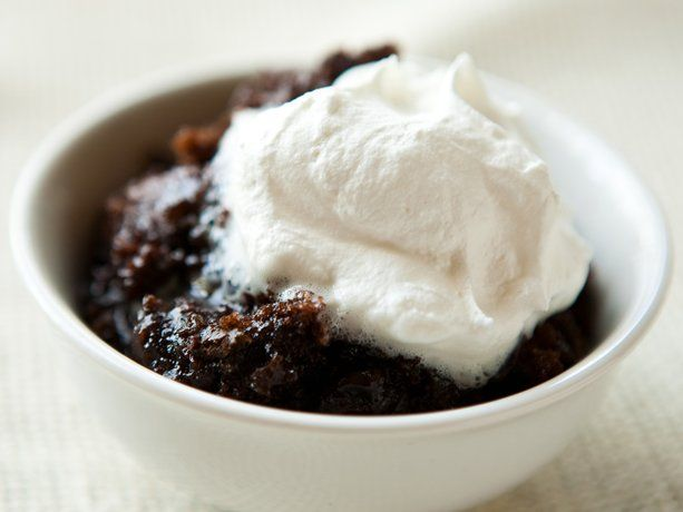 A restaurant favorite gets the slow-cooker treatment with this easy lava cake recipe. Molten chocolate pudding and chocolate chips make it extra gooey and rich. To make it a boozy cake, replace ¼ cup of the milk in the cake batter with coffee- or chocolate-flavored liqueur.