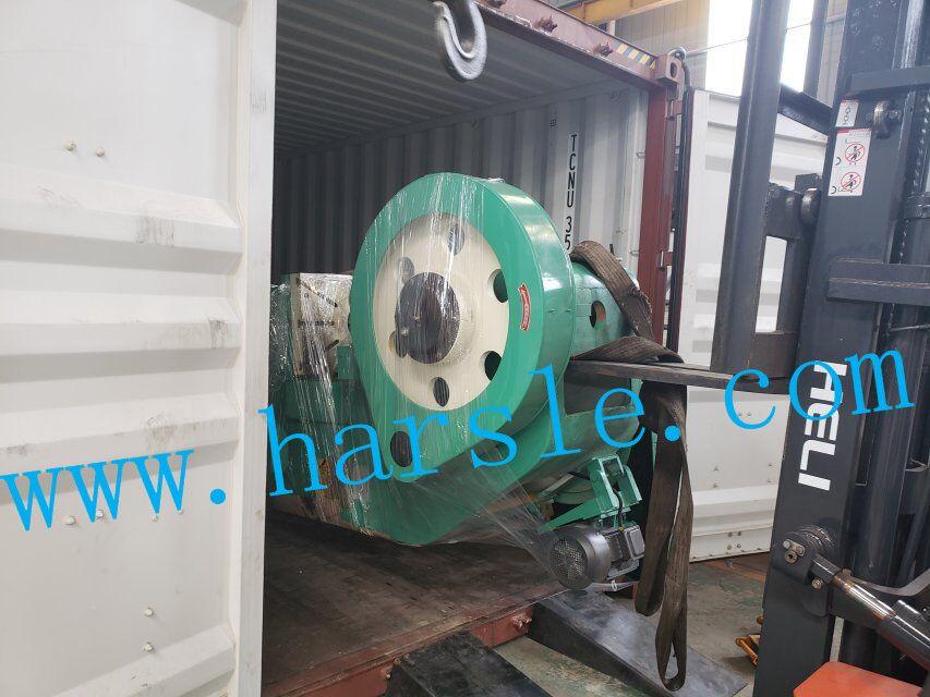 Harsle brand shearing machine and punching machine delivery to
