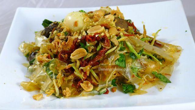 Danang Cuisine Recipe 68 Banh Trang Trộn Rice Paper Salad