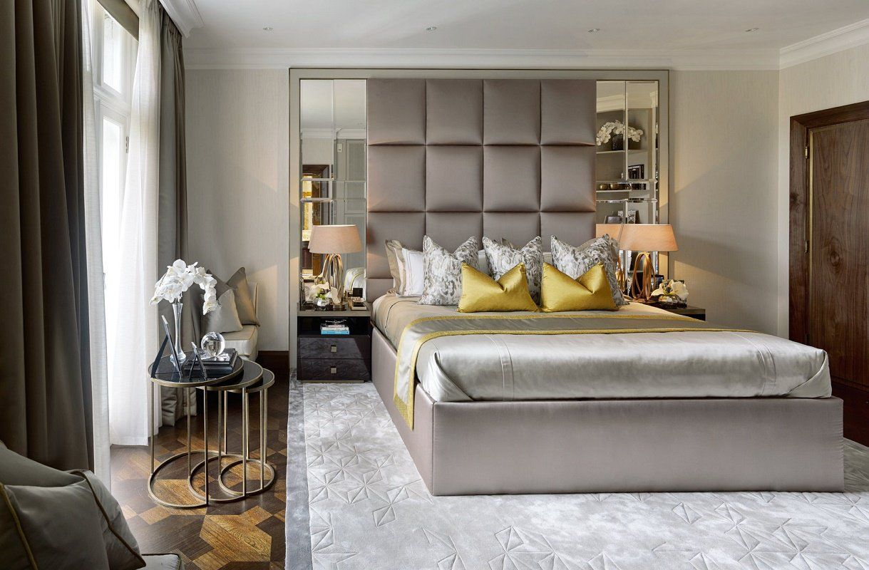 Best Contemporary Luxury Design Hyde Park Master Bedroom 400 x 300