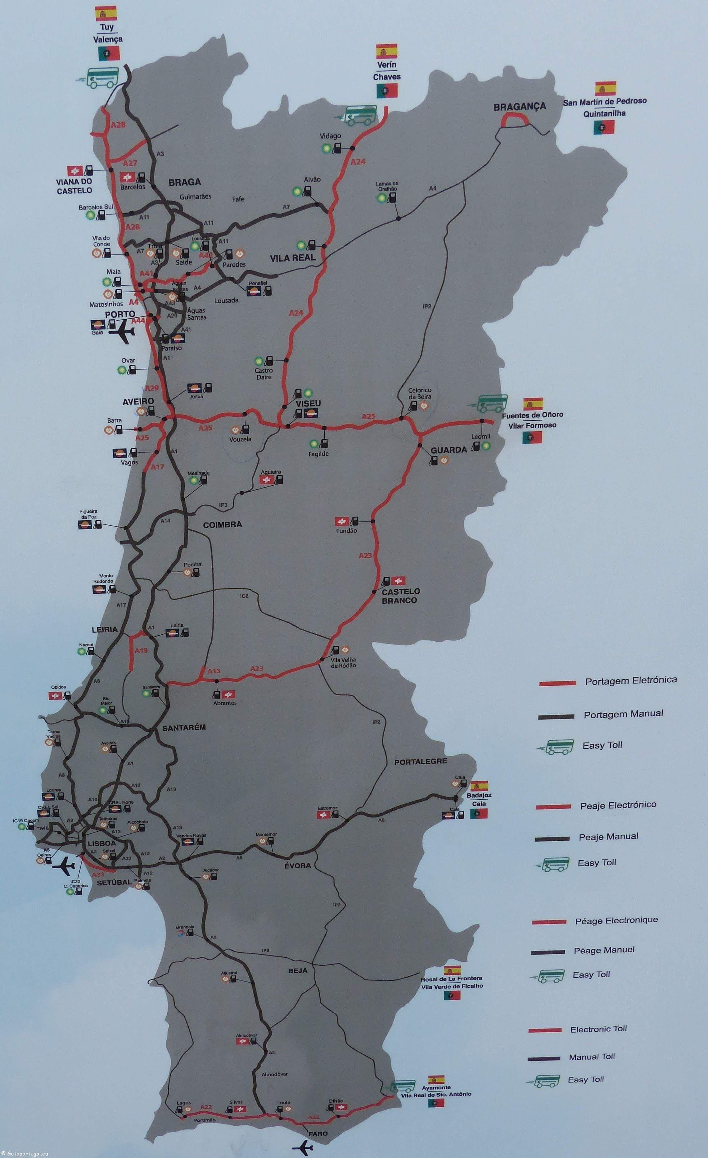Como Pagar As Portagens Eletronicas Antigas Scuts Em Portugal