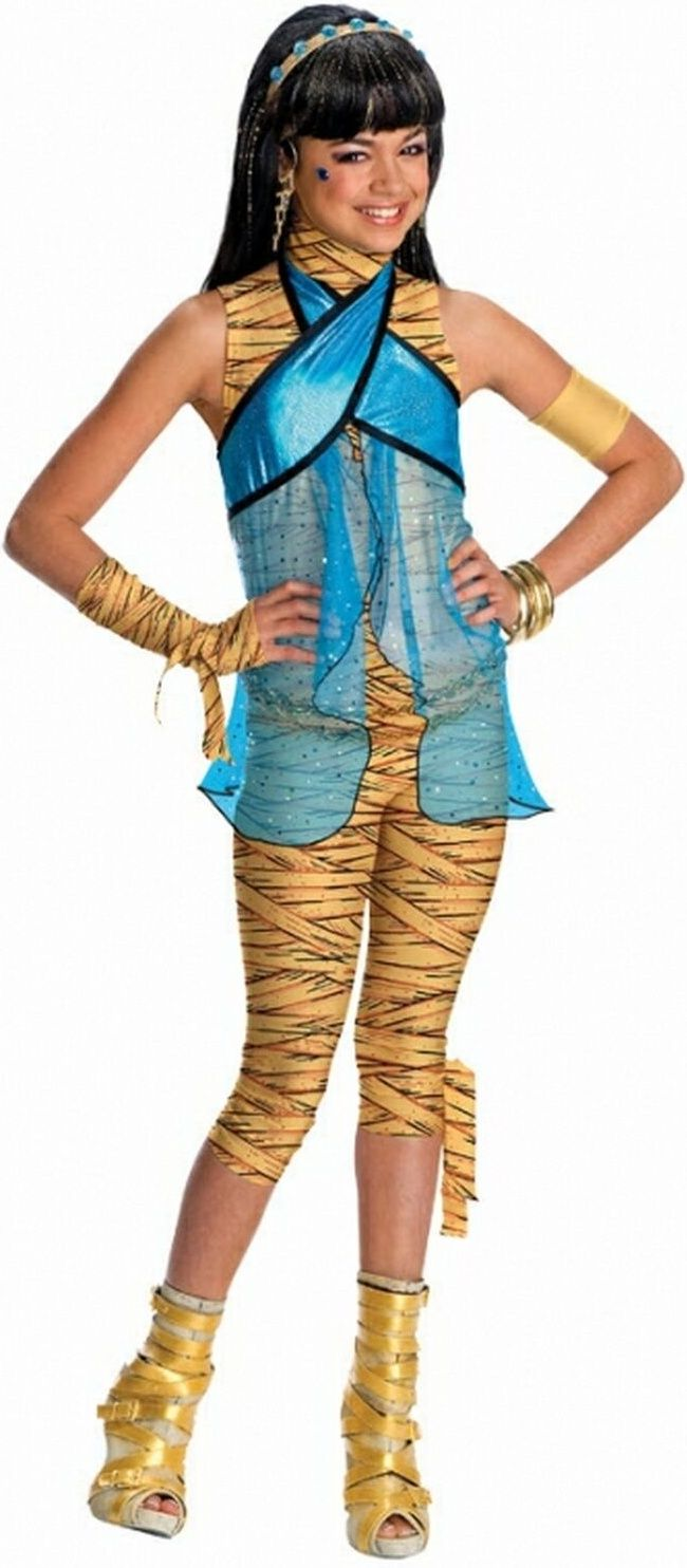 Monster High Cleo De Nile Girls Egyptian Costume | Costumes ...