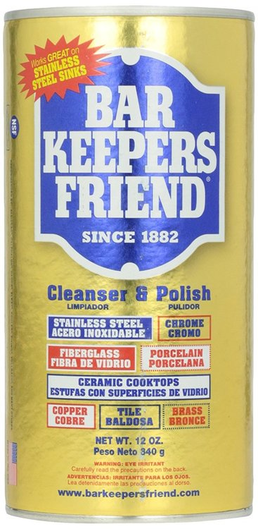 Bar Keepers Friend 174 Cleanser Amp Polish 12 Oz Pack Of 4