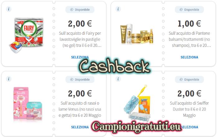 Cashback Desideri Magazine