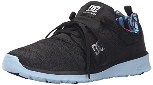 0fc6d5eba8e9c DC Womens Heathrow X TR Skate Shoe Black Print 6 M US    Check out.  Zapatillas De SkateZapatos Para MujeresPatinajeZapatillas Deportivas ImpresiónLink
