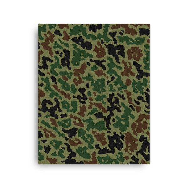 Military Summer Camo Canvas