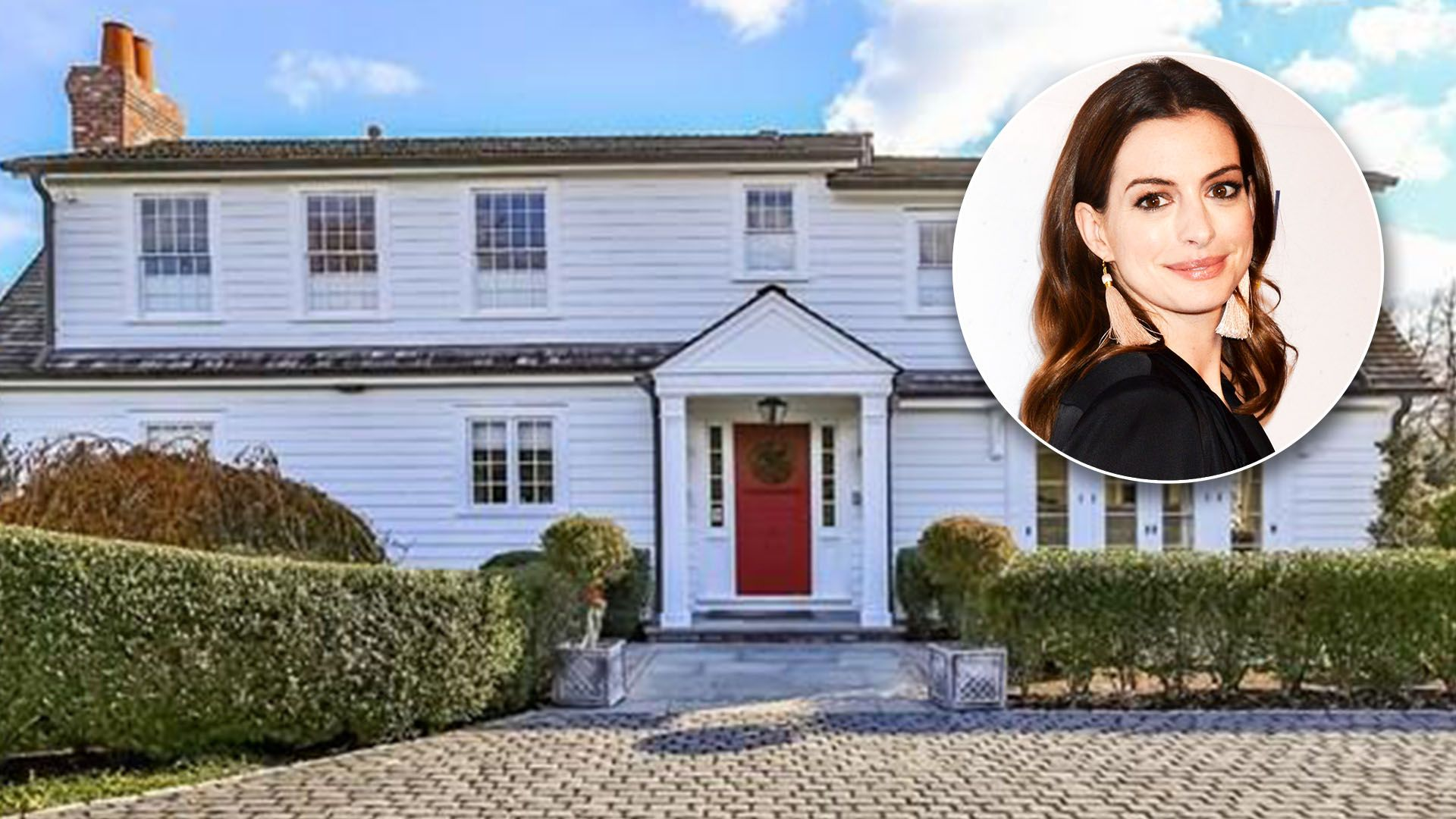 See inside Anne Hathaway\'s cozy, classic Connecticut home | Pinterest