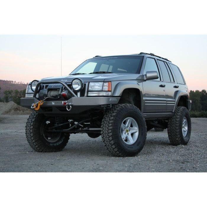 Hanson Zj Winchguard Front Bumper Jeep Zj Jeep Grand Jeep Grand Cherokee
