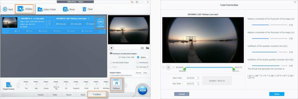 Best Gopro Fisheye Correction Software Gopro Fisheye Correction How To Fast Remove Fisheye Lens Distortion From G Lens Distortion Fish Eye Lens Gopro Video