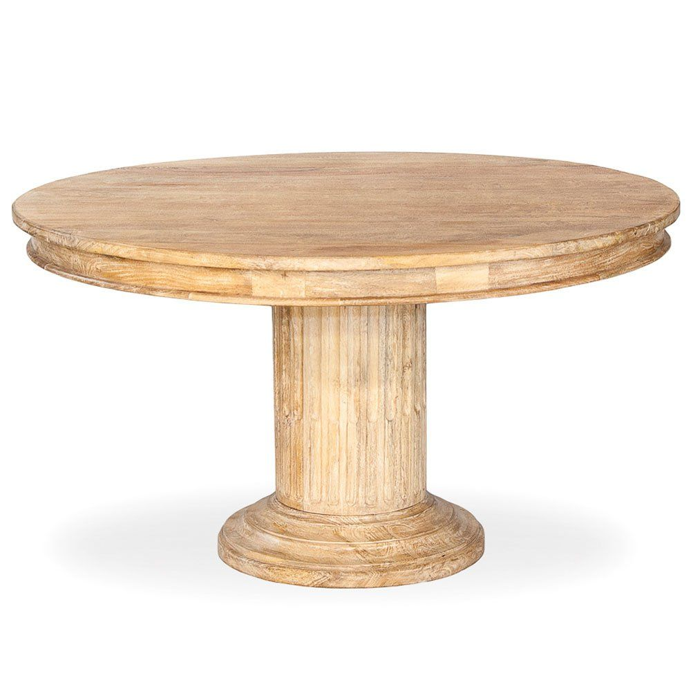 Sarreid Round Dining Table Dining Table Round Dining Table Dining [ 1000 x 1000 Pixel ]