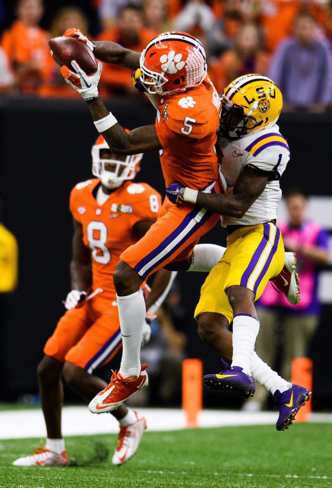 Former clemson wide receiver tee higgins tabbed early in