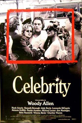 A great movie poster from Woody Allen's 1998 comedy-drama Celebrity! Starring Kenneth Branagh, Judy Davis, and Leonardo DiCaprio. Ships fast. 27x39 inches. Check out the rest of our excellent selectio
