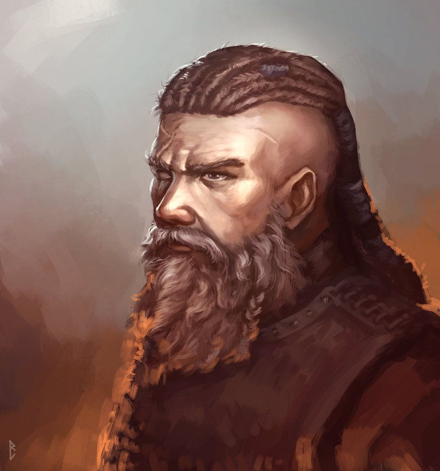 104 best images about RPG NPC Portraits on Pinterest ... |Dwarf Male Portrait