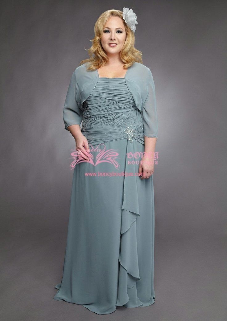 mother of the bride/groom -- wds050047 | plus size mother of the