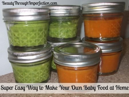 Homemade Baby Food, A Step by Step Guide - Beauty Through Imperfection