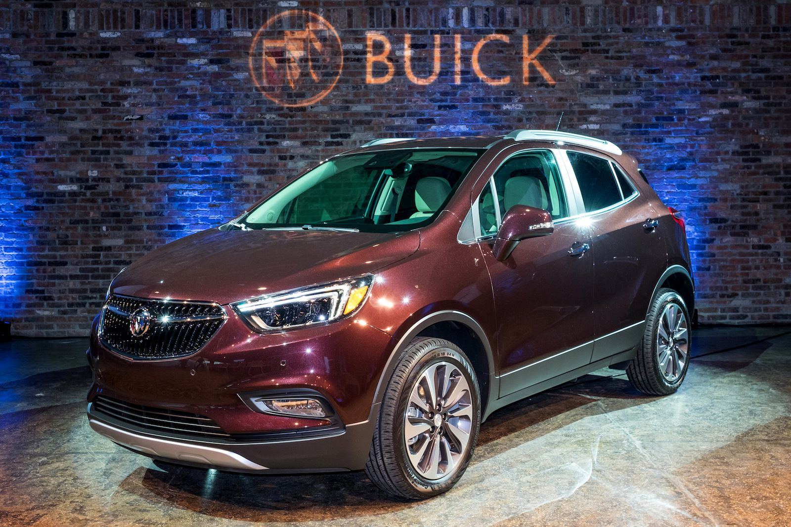 2017 Buick Encore The Car Connection Buick Encore Buick New Engine