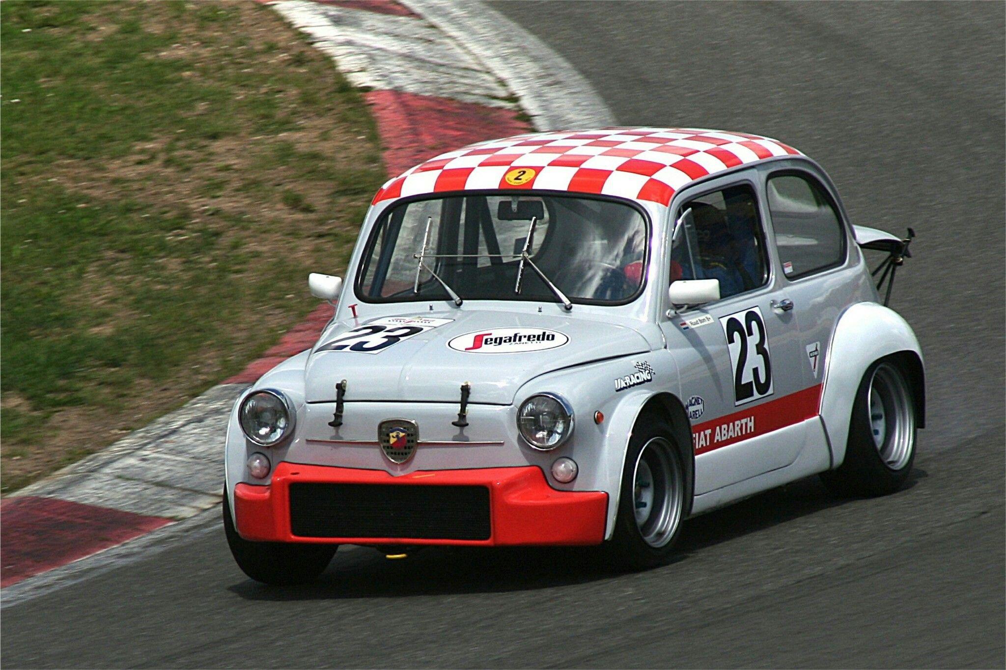 Rally Car Fiat 124 Abarth 183 Fiat Abarth 500 Race Car