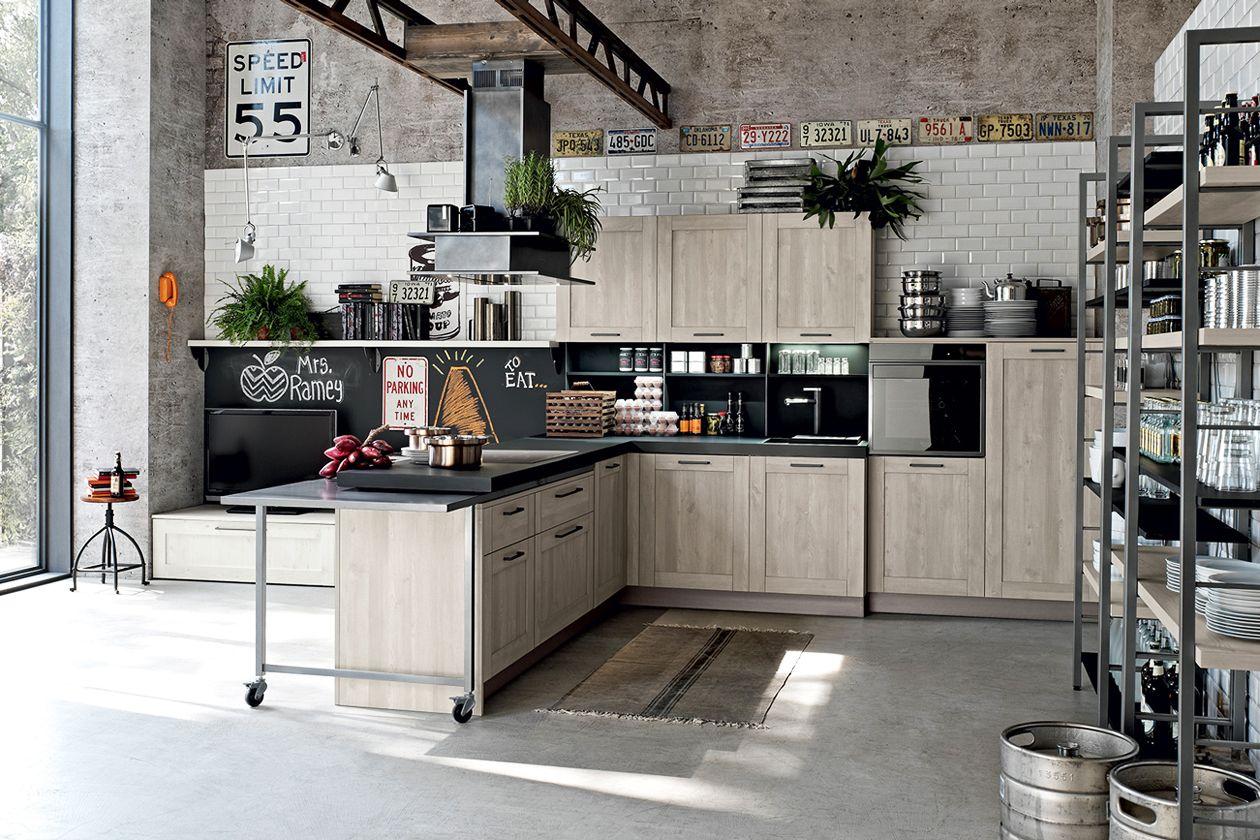Stile industriale: le cucine più belle - Grazia.it | Home Box ...