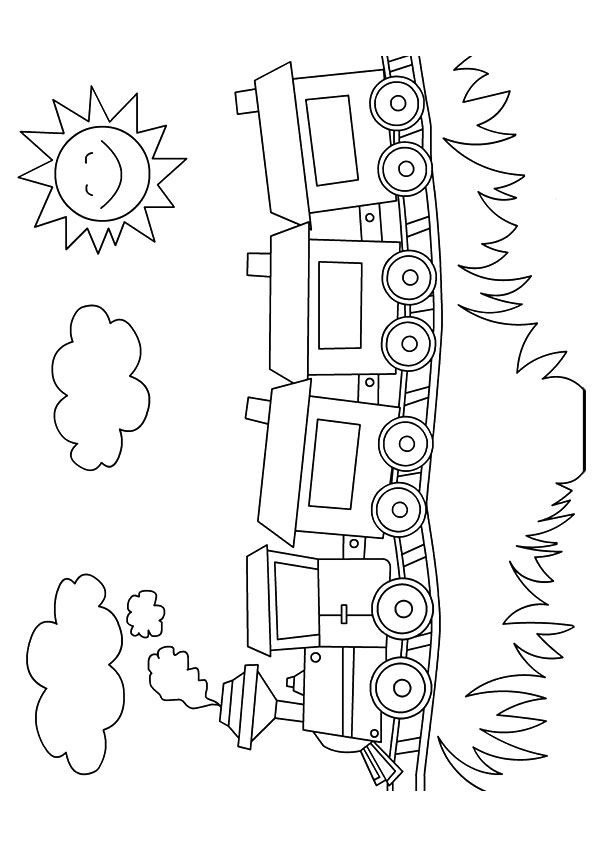 Top 26 Free Printable Train Coloring Pages Online Train Coloring