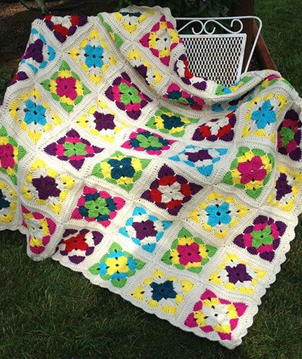 Revisiting Weekend in Stockholm Throw Free Crochet Pattern LW5016 ...
