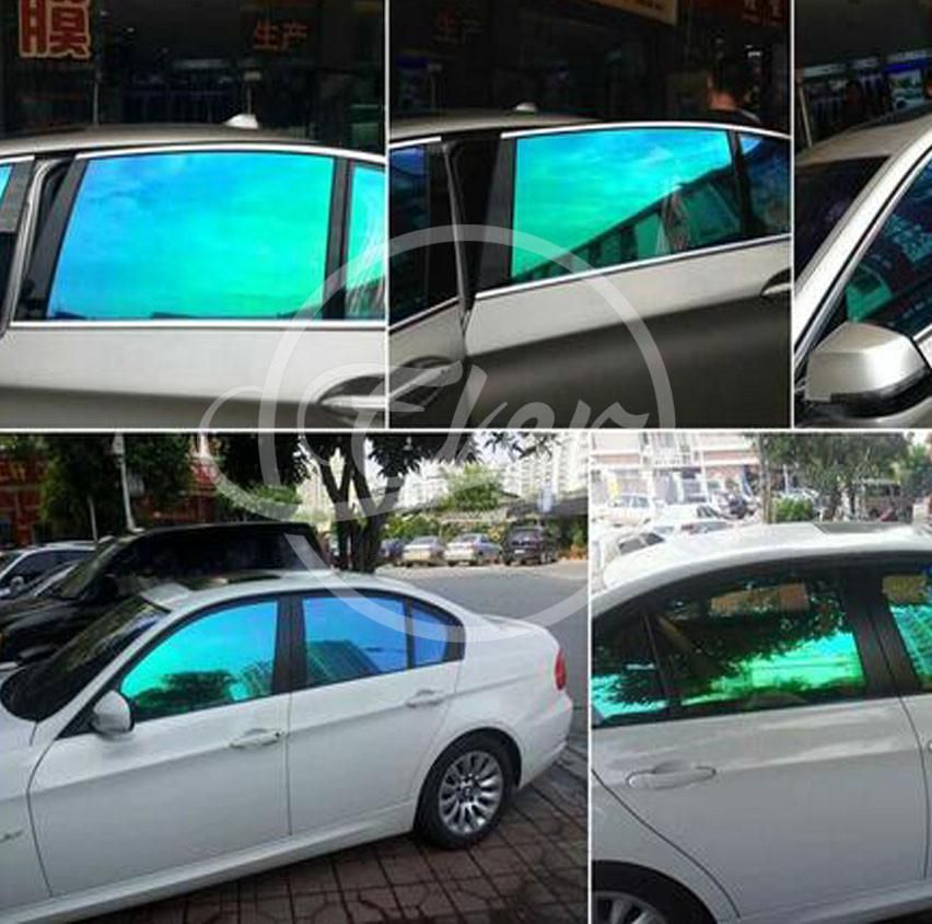 Vlt75 Uv99 Chameleon Window Tint 1 52x30m Light Purple Blue Pet Chameleon Solar Car Window Tints Solar Car Tinted Windows Car Tinted Windows