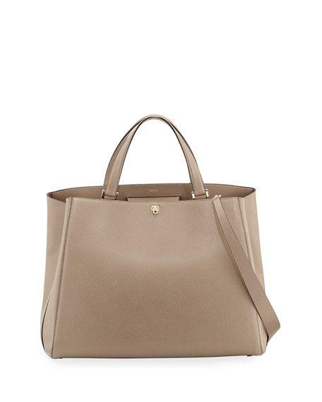 c28e0ab5cfe78 Triennale Large Leather Tote Bag