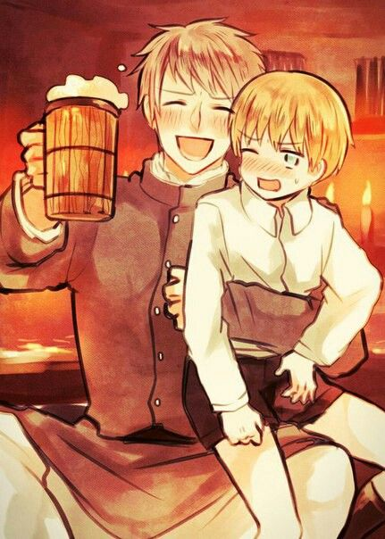Prussia and Little Germany   Hetalia madness!!!! ^J