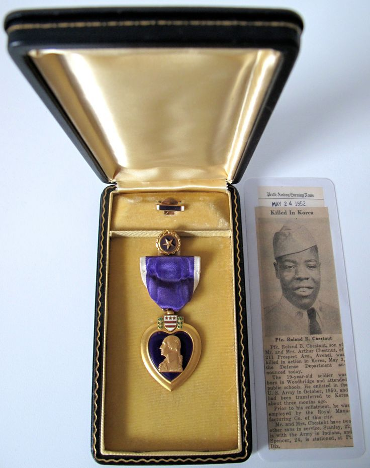 Pin by Nick on Korean War Military medals, Purple heart