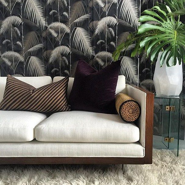 Strikingly reimagined, Cole and Son's Palm Jungle