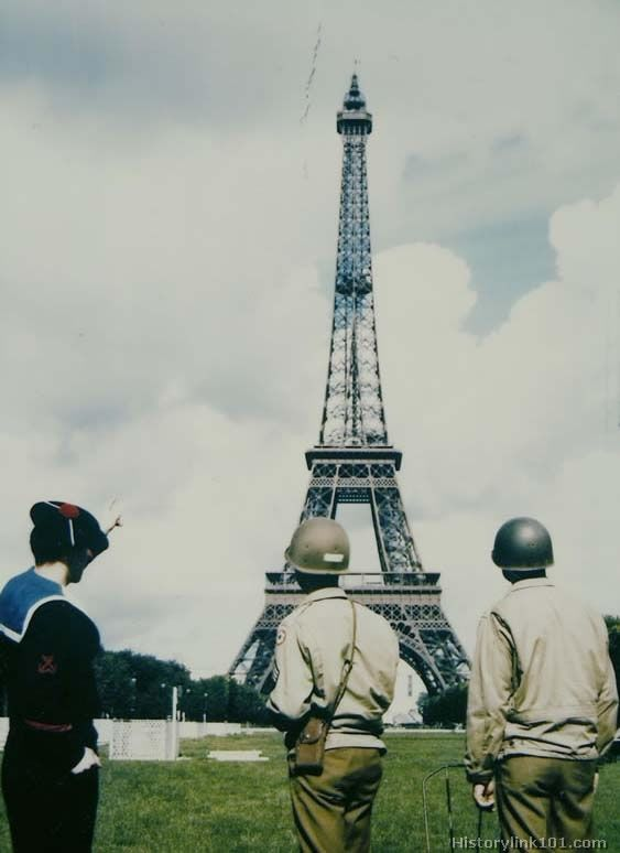 Eiffel tower ww2 for Olive garden westminster maryland