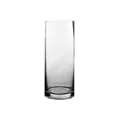 35 X 9 Bulk Cylinder Vases Set Of 24 By Candles4less 7998