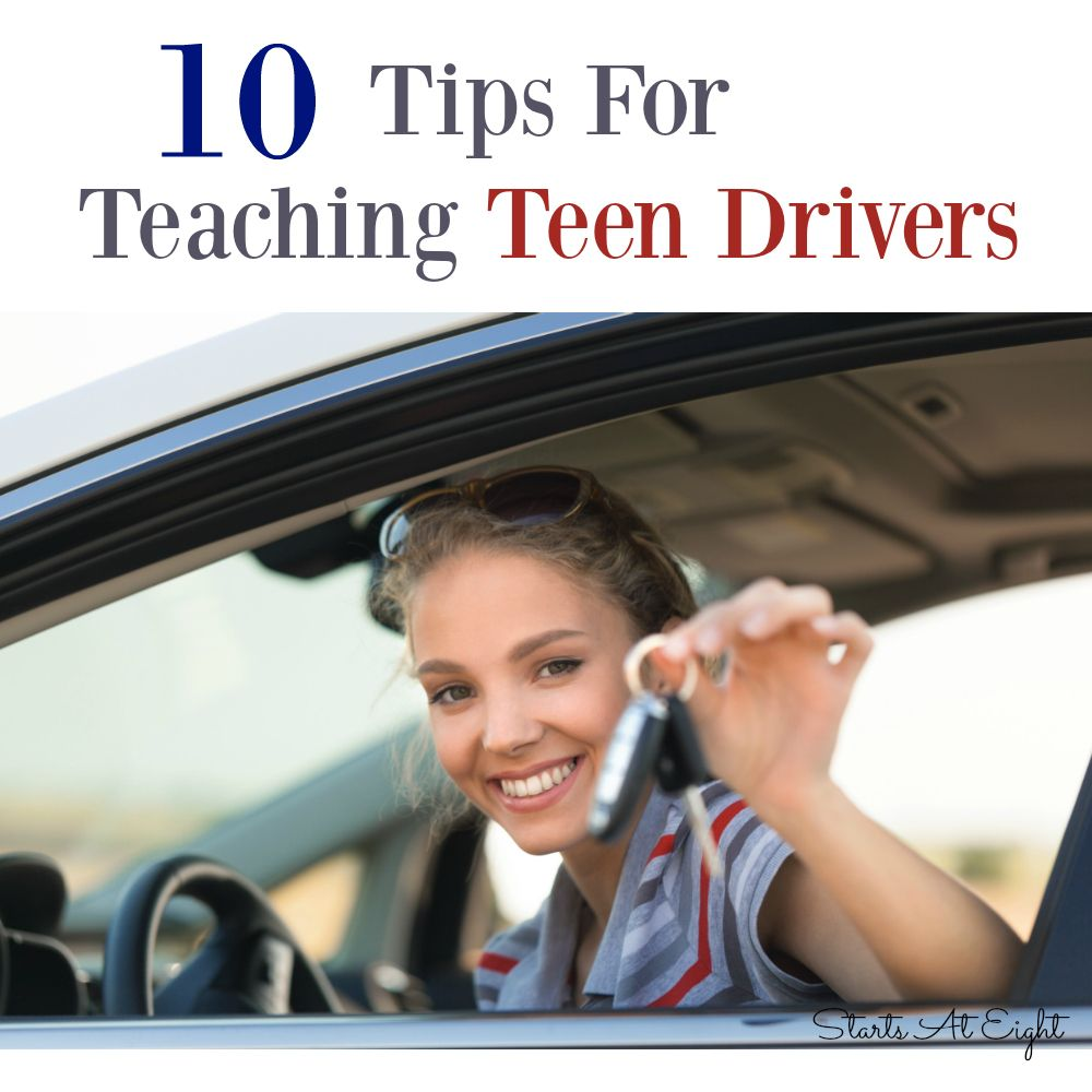 Teaching teens to drive are absolutely