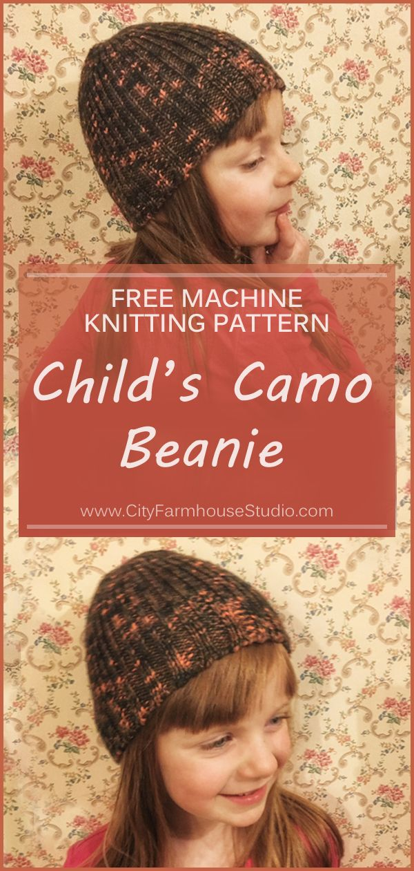Childs Beanie Pattern For Free At Cityfarmhousestudio This