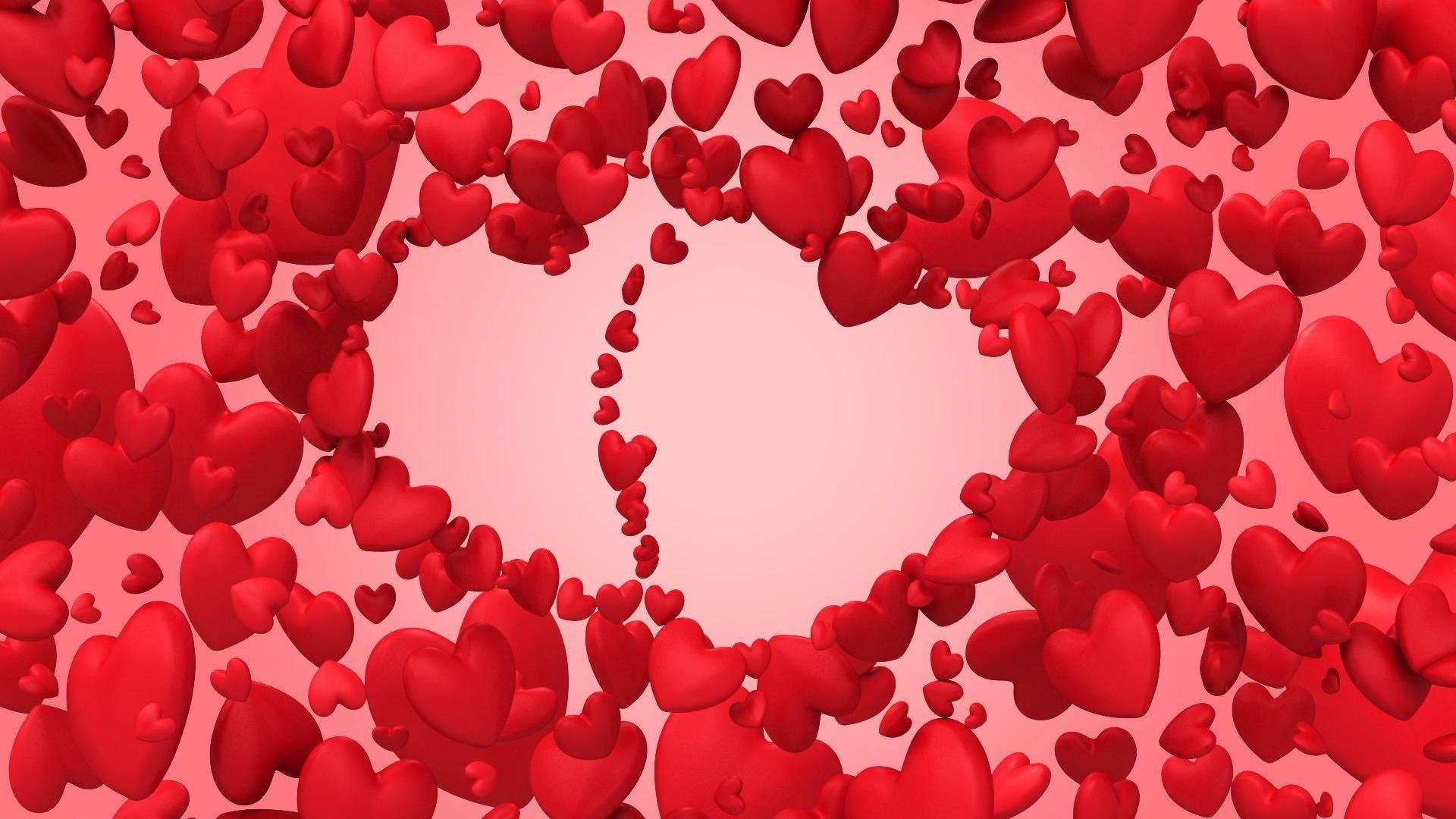 Wallpaper download hd love 2016 - Download Cool Little Hearts Love Hd Wallpaper