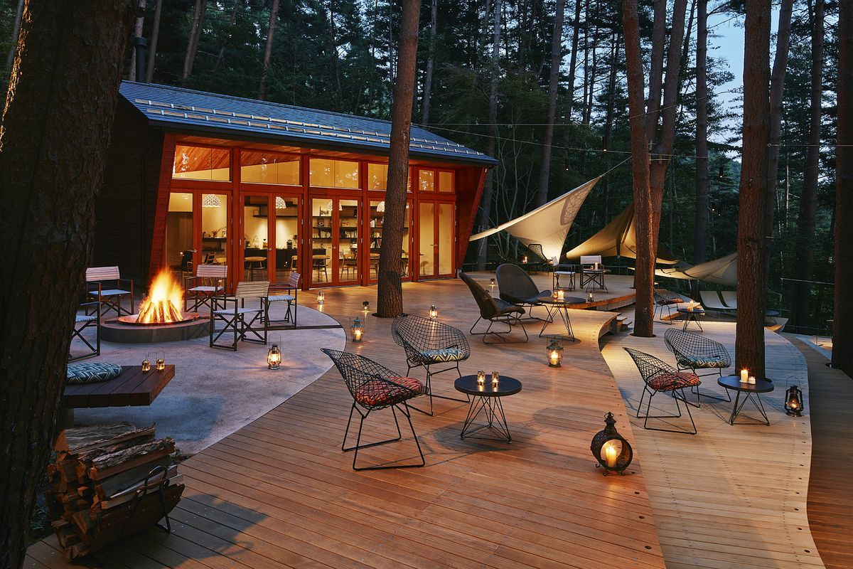 HOSHINOYA Fuji Japan's first glamping resort,... | Luxury Accommodations