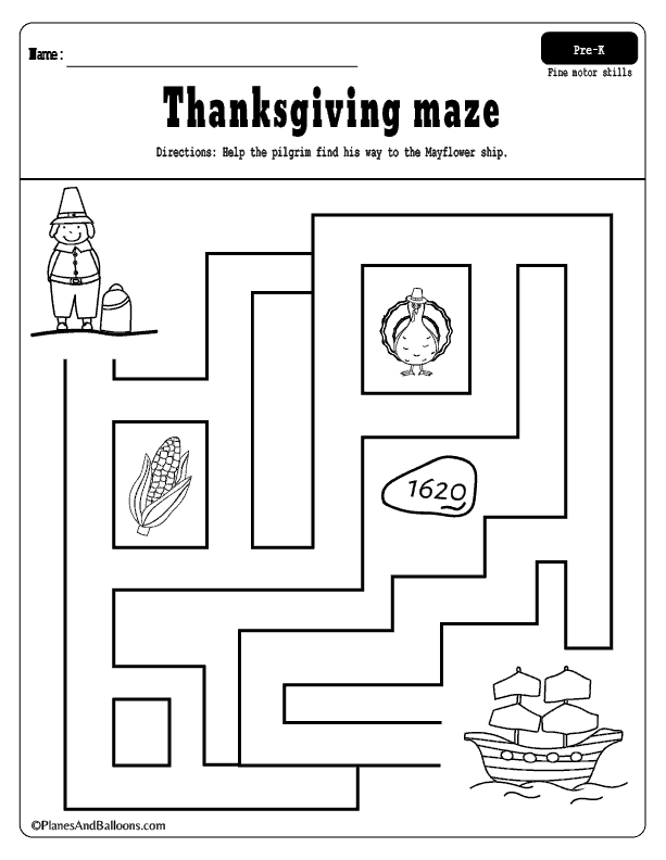 Fun And Free Thanksgiving Worksheets For Preschoolers Thanksgiving  Worksheets, Thanksgiving Preschool, Thanksgiving Kindergarten