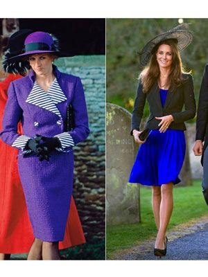 april leflye: Princess Diana and kate Middleton in Style