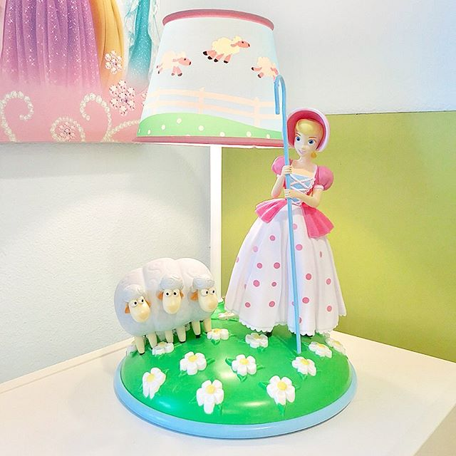 I Couldn T Resist This Adorable Bo Peep Lamp From Target For Our Girl S Playroom Toystory Toystory4 Pix Toy Story Nursery Toy Story Room Playroom