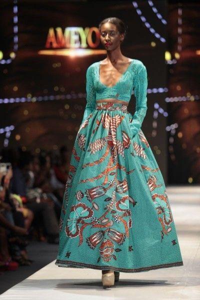 Long kitenge dress designs