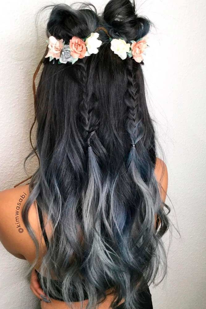 21 Silver Ombre Hair Ideas For You #ombrehair